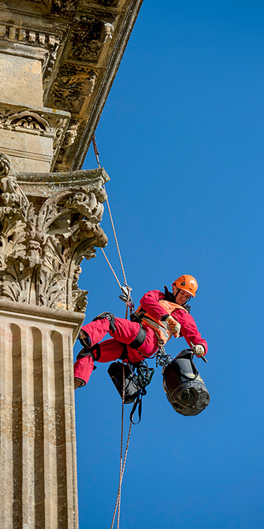 WallWalkers Rope Access - English Heritage Conservation